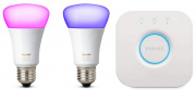 Комплект умных ламп Philips Hue White and Color Ambiance E27 Starter Kit